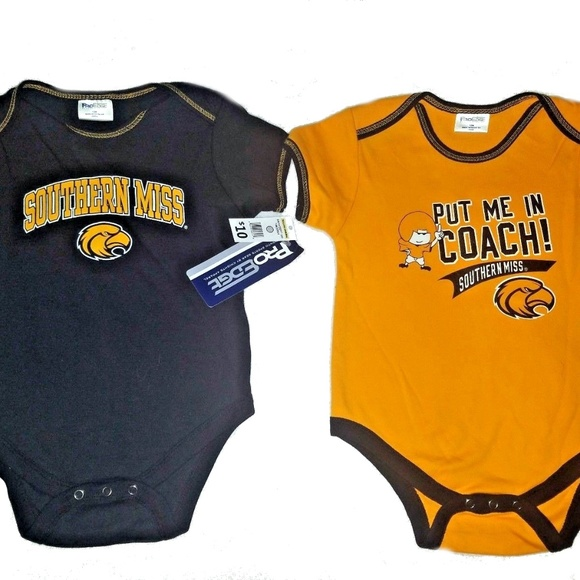 Pro Edge Other - Southern Mississippi USM Onesie 2 pack